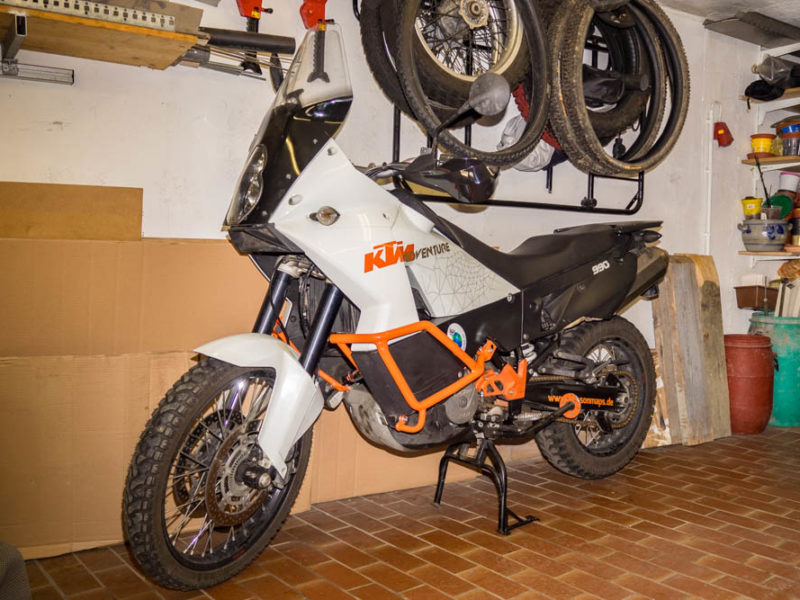 Endlich wieder ein Motorrad