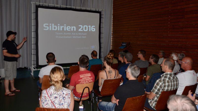 Spaß beim Zuhören und fast live dabei! - Multimedia Präsentation Sibirien