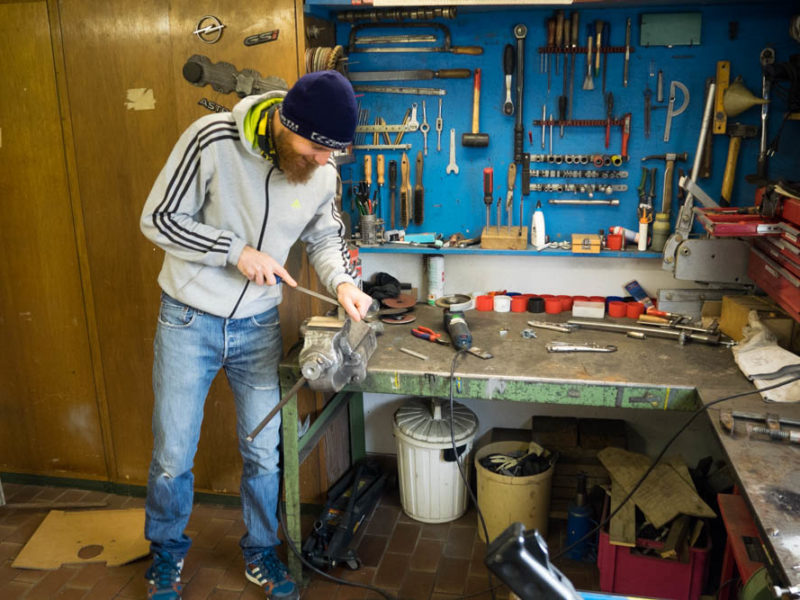Husky Build Phase 1 – Selbstgemacht